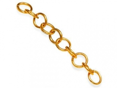 10 pcs Stainless Steel Jump Rings Gold Color
