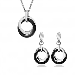 Stainless Steel and Ceramic Set