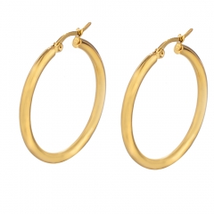 Stainless Steel Solid Earrings ES-1306C