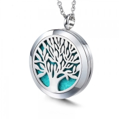 Stainless Steel Essential Oil Diffuser Pendant