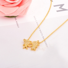 Stainless Steel Necklace NS-0659