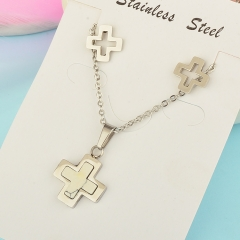 Stainless Steel Jewelry set Necklace  XXXS-0204