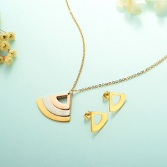Stainless Steel Jewelry Set 18k Gold Jewelry Wholesale  XXXS-0241